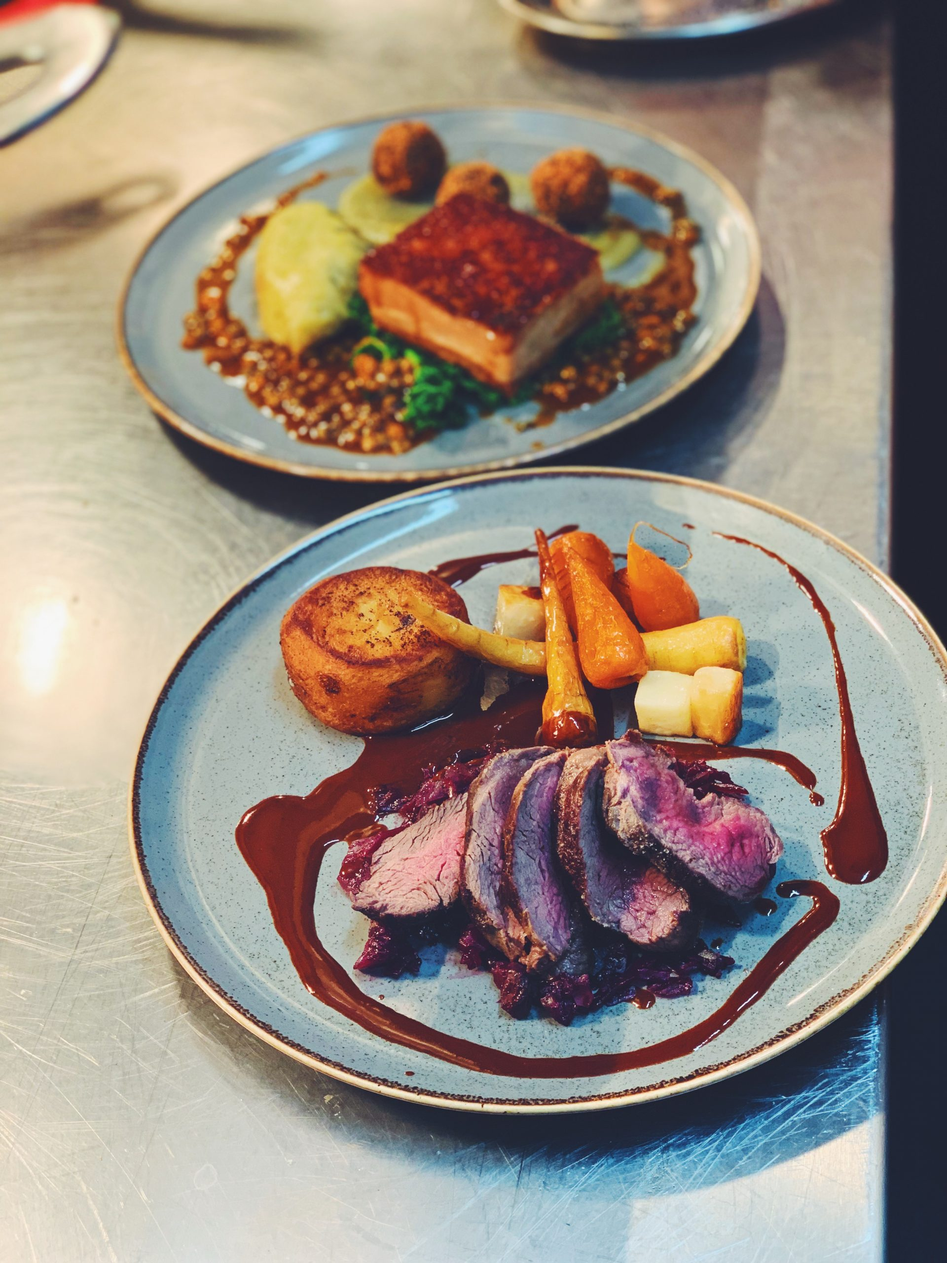 a menu which will comprise modern dishes which utilise the finest in local, British, seasonal produce.