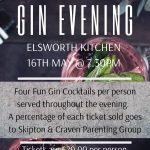 Gin Evening SKipton Restaurant Events