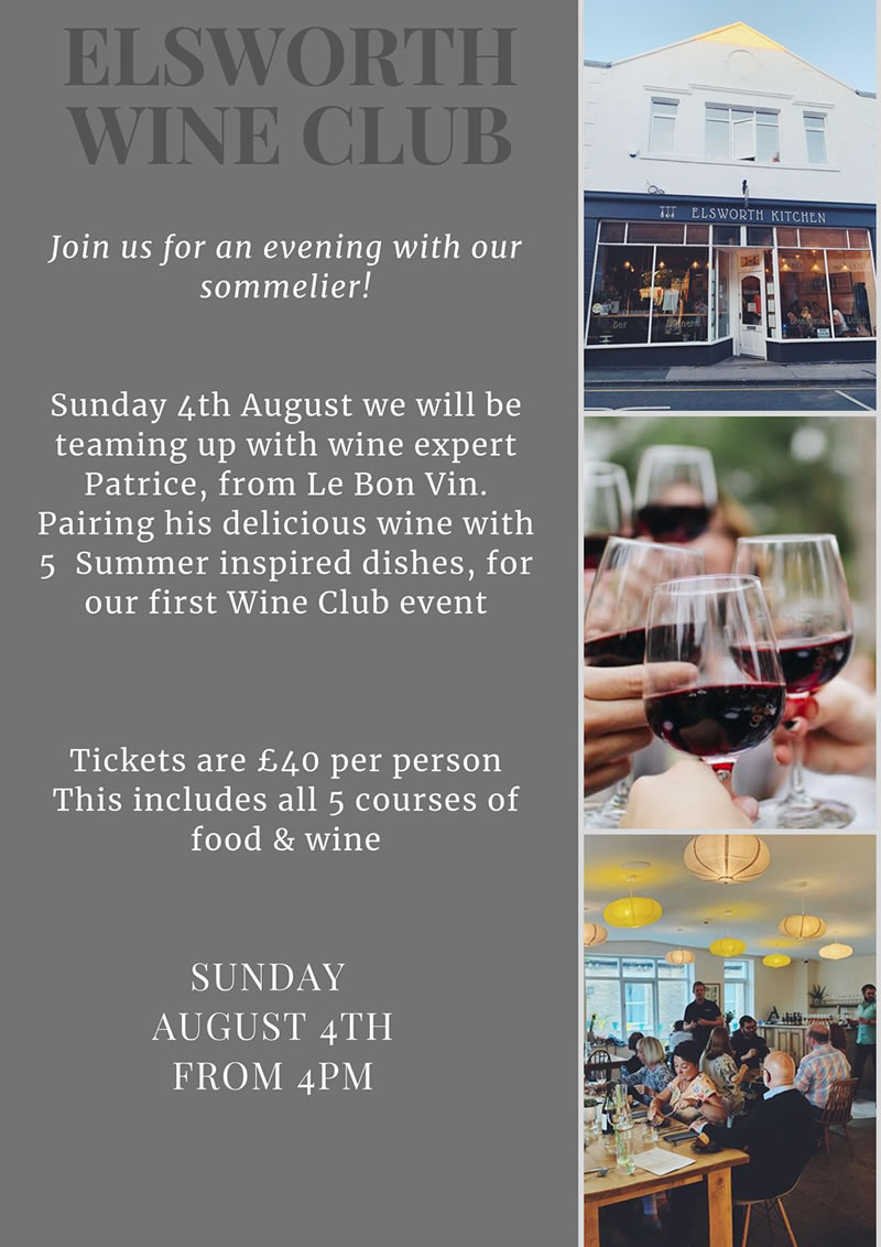 skipton restaurant elsworth kithchen wine club