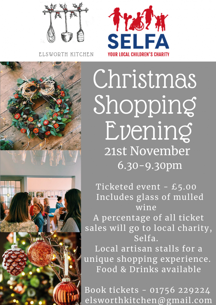 Christmas Shopping Event Skipton