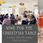 Wine for the Christmas Table fb event