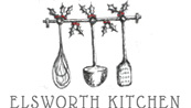 resturant skipton elsworth kitchen logo christmas