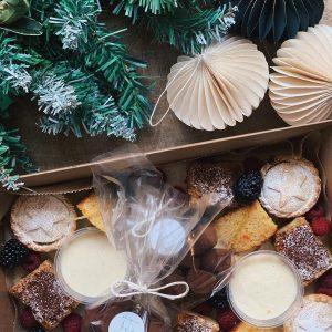 xmas cakes box