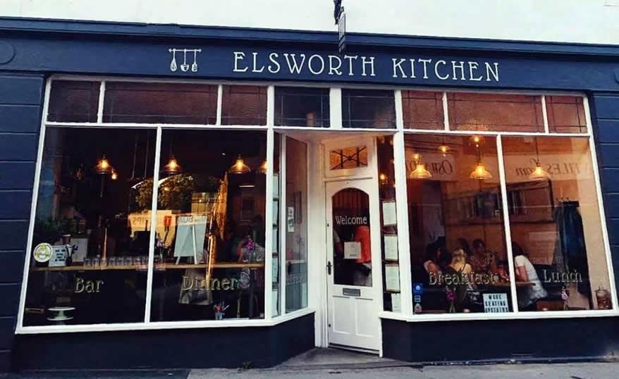outside elsworth kitchen award winning restaurant