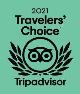 travellers choice award trip advisor 2021